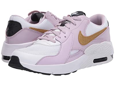 Nike Kids Air Max Excee (Big Kid) (White/Metallic Gold/Iced Lilac/Off Noir) Kid