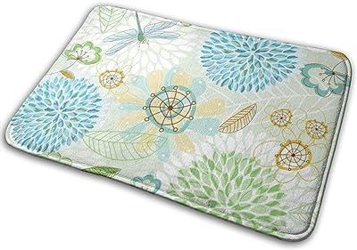 """Fresh Spring Doormat Non Slip Indoor/Outdoor Door Mat Floor Mat Home Decor, Entrance Rug Rubber Backing Large 23.6""""(L) x 15.8""""(W)"""