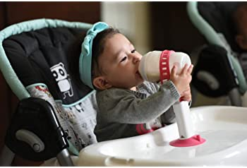 Babaste Baby Bottle Holder | Hands-Free Feeding That Improves Hand Eye Coordination, and Motor Skills | Keep Bottles ...