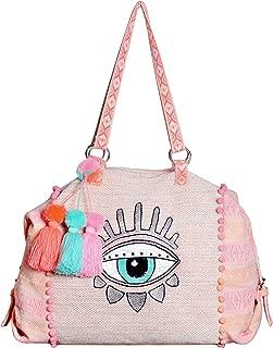 Boho Bling Eye Travel Weekender Overnight Bag