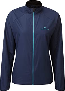 RONHILL Women's Wmn's Core Jacket, Deep Navy/Spa Green, 10