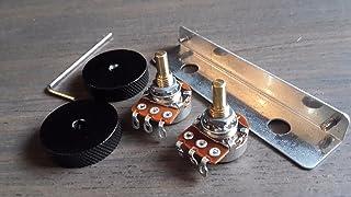 Jazzmaster Guitar Rhythm Roller Knobs & Bracket/Mini Pots kit fits Fender