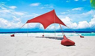Otentik Parasol para Playa o al Aire Libre – Toldo – Refugio de Playa – Toldo de Vela – Toldo de Sol