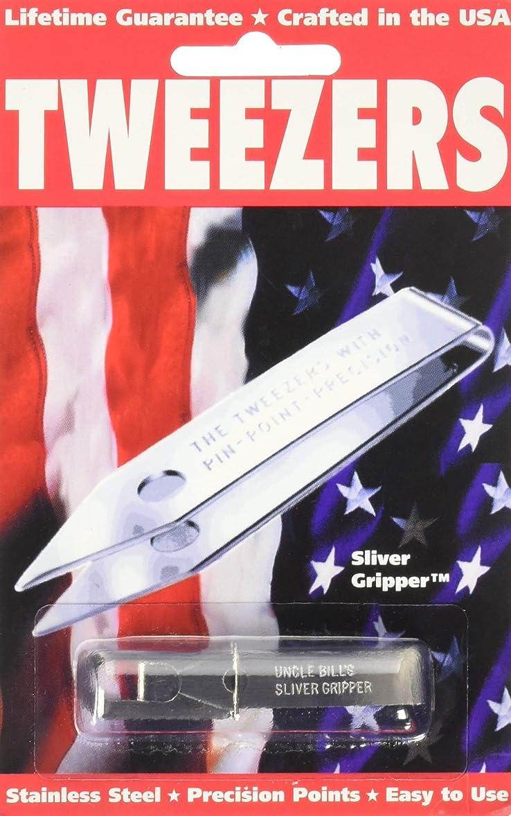 パトワ手伝う光沢Sliver Gripper Uncle Bill's Key Chain Tweezers by Sliver Gripper