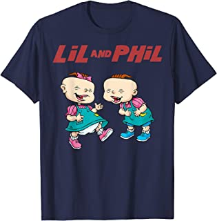 Lil And Phil Laughing Poster T-Shirt