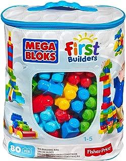 Mega Bloks DCH63 First Builders Big Building Bag, Multi