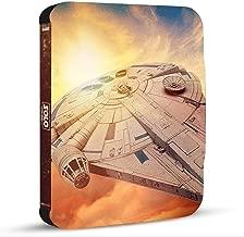 SOLO: A Star Wars Story - STEELBOOK Edition HAN SOLO: Una Historia de Star Wars BONUS English & Spanish Audio and Subtitles