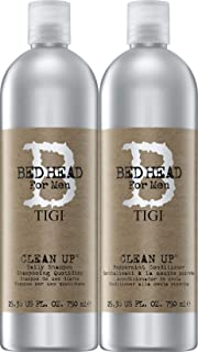 Tigi Bed Head Men Clean Up Shampoo & Conditioner DUO Pack, 25.36-ounce Each