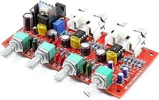NE5532オペアンプ搭載 トーンコントロール機能付きプリアンプ自作キット Rev3.1_v2