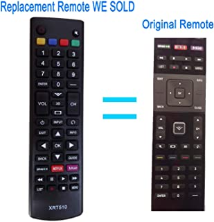 New Replacement Smart TV Remote xrt510 fit for VIZIO M-Series Internet App TV M601d-A3 M701d-A3 M801d-A3 M601DA3 M701DA3 M801DA3 M501D M501DA2 M501D-A2 M501d-A2R M501dA2R