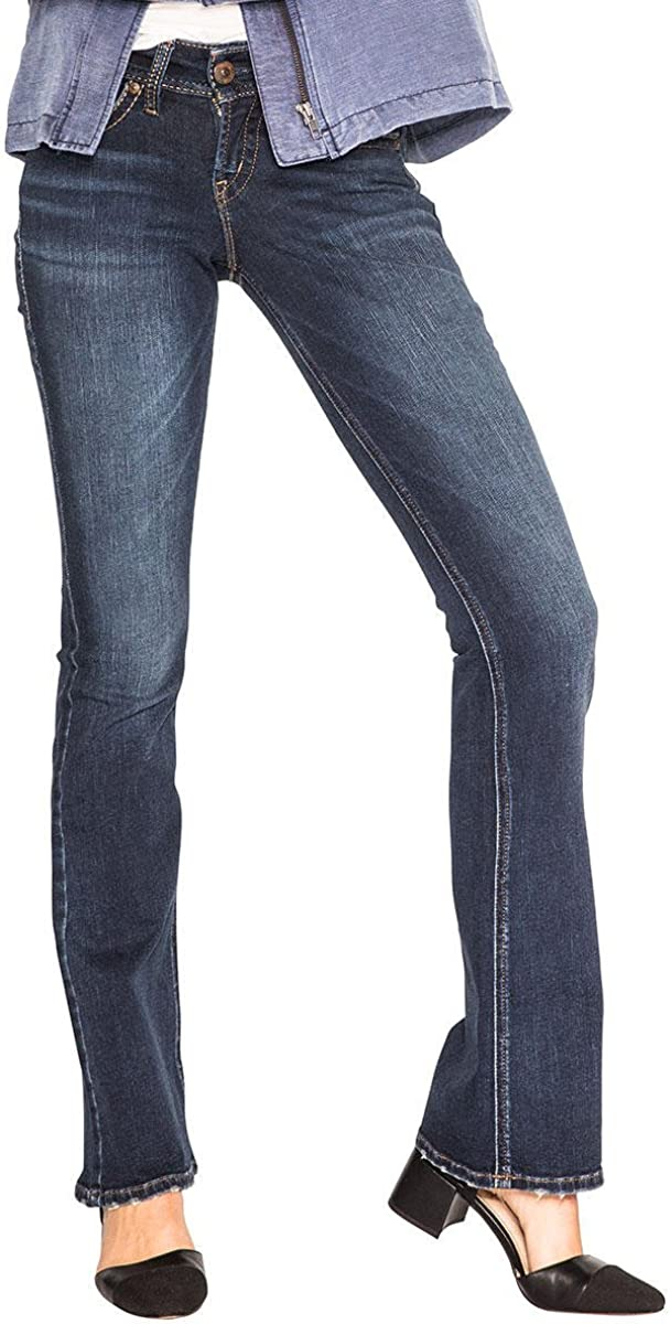 Silver Jeans Women's OFFer Suki Stretch Cheap mail order shopping Midrise Flare Jean