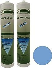 Ber-Fix® MS Polymeer Zwembadlijm, blauw, onderwaterlijm als montagelijm voor zwembaden, 2 stuks