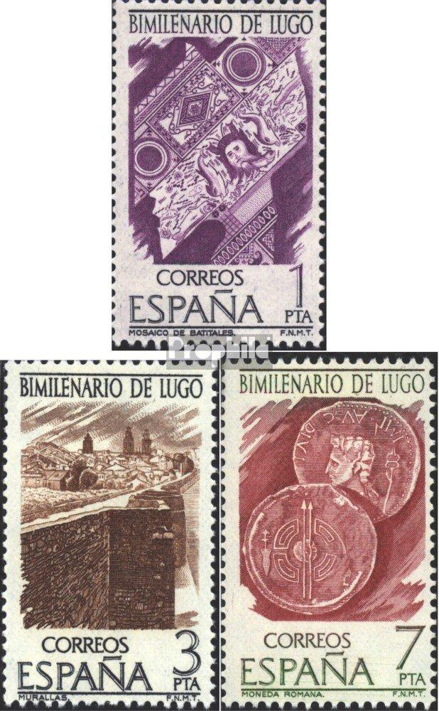 Prophila Collection España Michel.-No..: 2249-2251 (Completa.edición.) 1976 2000 años Lugo (Sellos para los coleccionistas): Amazon.es: Juguetes y juegos