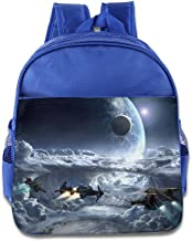 XJBD Custom Superb Star Citizen Boys And Girls School Backpack For 1-6 Years Old RoyalBlue