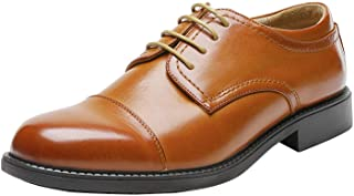 Bruno Marc Downing-01 Zapatos de Cordones Oxfords Vestir Derby para Hombre