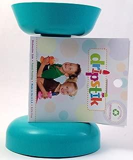 Dripstik No Mess Ice Cream Cone & Frozen Treat Holder Also Makes Ice Pops (Aqua)