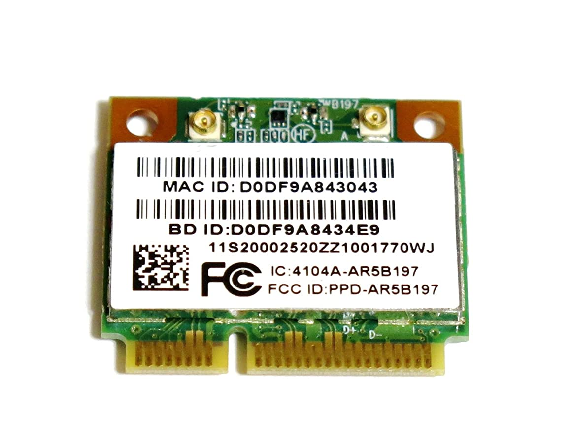 成り立つありがたいアレイLenovo純正+汎用 Atheros AR5B197 802.11b/g/n WIFI AR9287 +Bluetooth 3.0 AR3011 all in one無線LANカード Lenovo P/N:20002520
