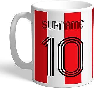 Southampton FC Official Personalized Retro Shirt Mug - Free Personalisation