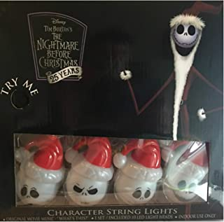 Nightmare Before Christmas Disney Character String Lights
