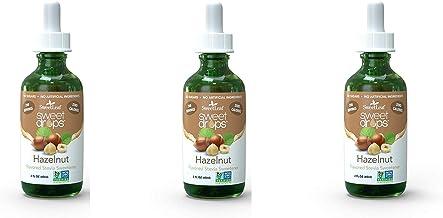 SweetLeaf Sweet Drops Liquid Stevia Sweetener, Hazelnut, 2 oz (3-(Pack))
