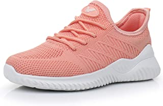 Womens Memory Foam Walking Shoes Lightweight Fashion Sports Gym Jogging Slip on Tennis Running Sneakers US5.5-10