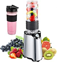 AICOK Personal Blender, 300Watt Smoothie Blender for Shakes and Smoothies Small Smoothie Maker for Juice, Single Serve Cou...