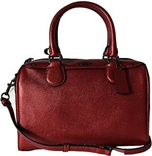 6950e9952733 COACH MINI BENNETT SATCHEL IN CROSSGRAIN LEATHER