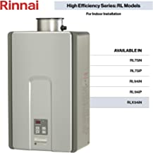 Rinnai RLX Series HE+ Tankless Hot Water Heater: Indoor Installation