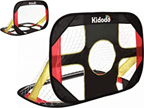 Kidodo Soccer Goals for Backyard Kids Soccer Goal for Kids Pop Up Soccer Goal for Chidren Foldable and Portable Soccer Goal Net Outdoor Garden and Indoor Toy