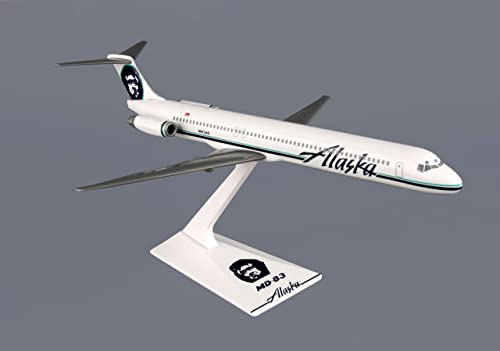 precios mas baratos Flight Miniatures Alaska Airlines McDonnell Douglas MD-83 1 200 Scale Scale Scale Display Model by DARON WORLDWIDE  disfruta ahorrando 30-50% de descuento