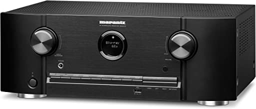 Marantz 8K Ultra HD AV Receiver SR5015-7.2 Channel (2020 Model) - Dolby Virtual Height Elevation with Built-in HEOS and Am...