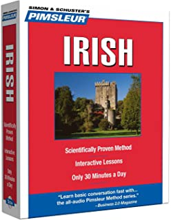 Pimsleur Irish Level 1 CD: Learn to Speak and Understand Irish (Gaelic) with Pimsleur Language Programs (1) (Compact)
