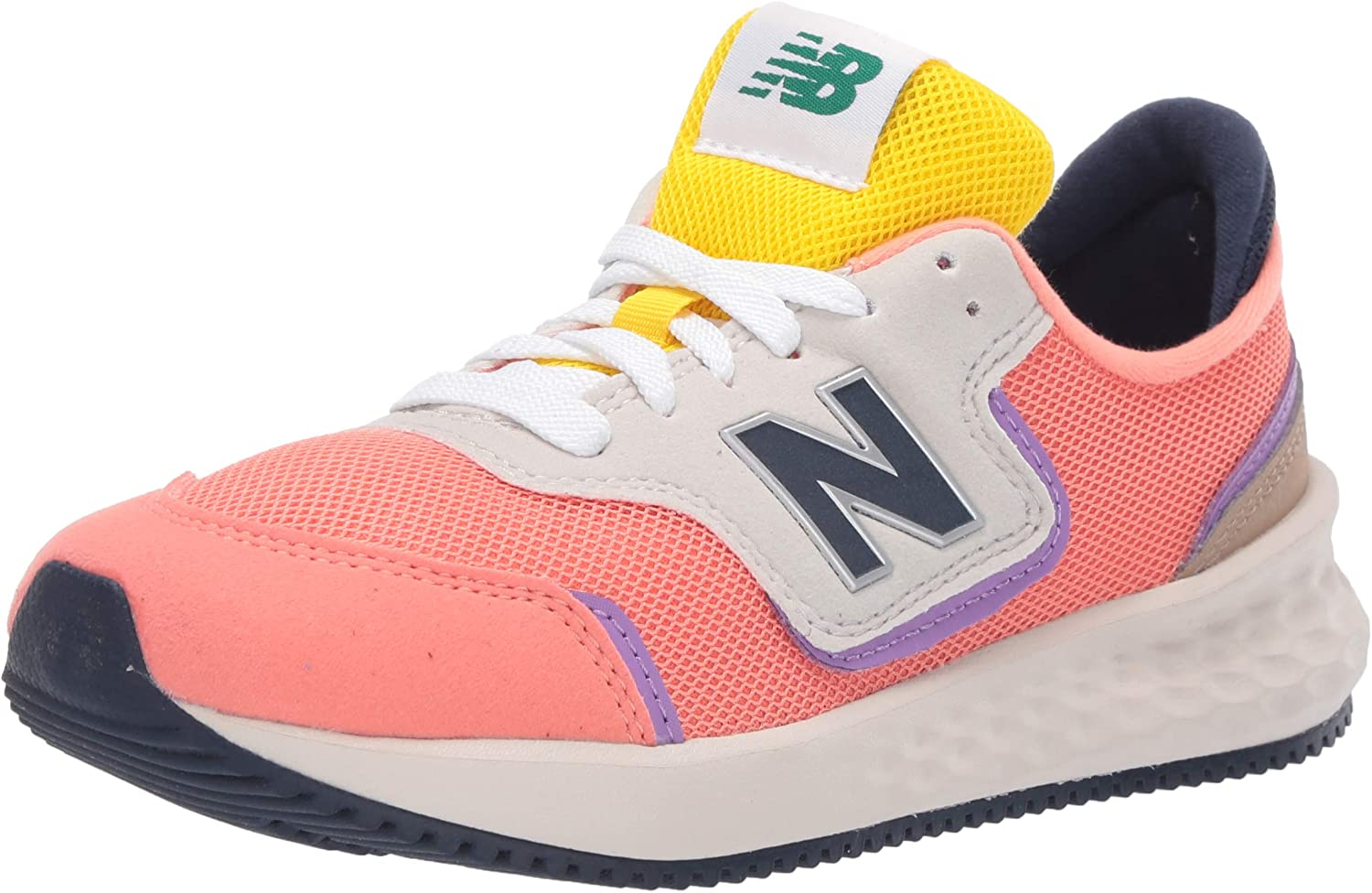 New Balance Kids' Fresh Foam X70 Sneaker Lace-up Year-end annual account V1 Very popular!
