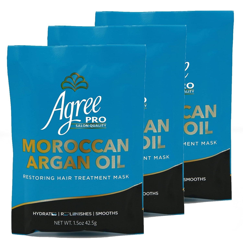 AGREE Colorado Springs Mall PRO HAIR TREATMENT ARGAN 3 x 4.5 oz Hair g 1.5 packets M Ranking TOP17