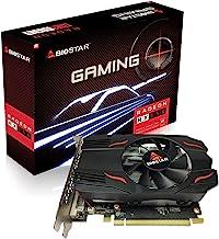 Biostar Radeon RX 550 4GB GDDR5 128-Bit DirectX 12 PCI Express 3.0 DVI-D Dual Link, HDMI, DisplayPort. Gaming Edition VA55...