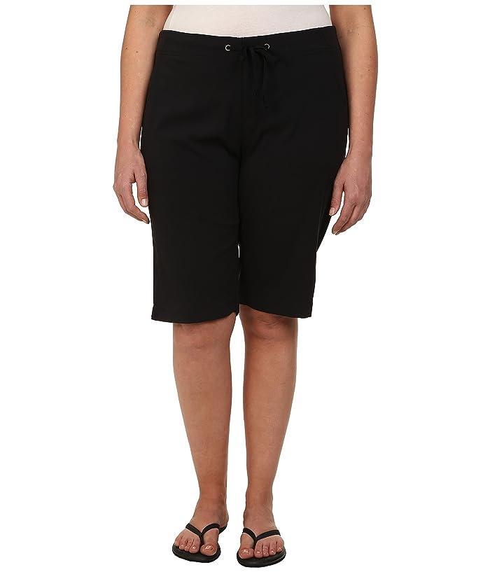 Columbia Plus Size Anytime Outdoortm Long Short (Black) Women