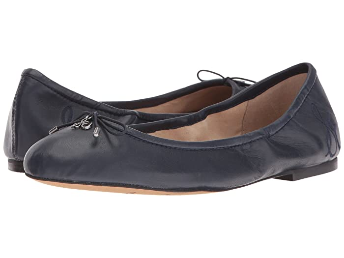 Sam Edelman  Felicia (Navy) Womens Flat Shoes