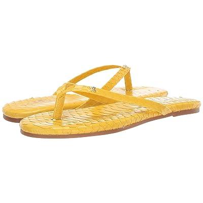 Yosi Samra Rivington (Yellow Scaled Leather) Women