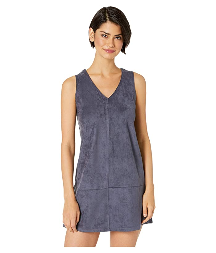 Bishop + Young V-Neck Dress (Midnight Blue) Women