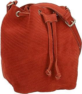Gusti Umhängetasche Leder - Grethe Leder Schultertasche Handtasche Beuteltasche Ledertasche Damen Leder