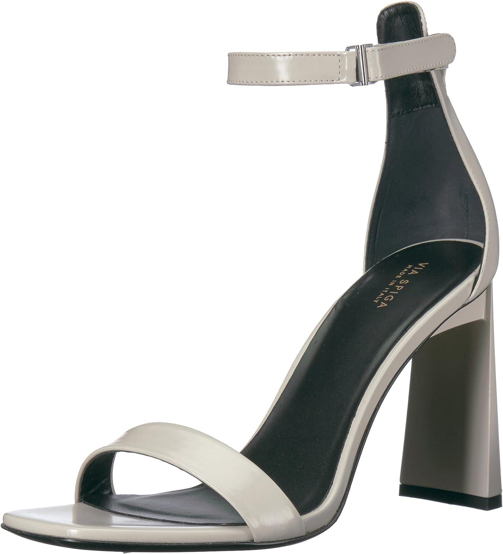 Via Spiga Womens Faxon Angular Heel Sandal Heeled Sandal