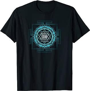 Shri Yantra Lotus Buddhism Meditation Sacred Geometry Zen T-Shirt