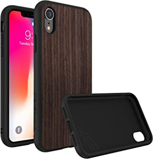 Rhino Shield Solidsuit For Iphone Xr- Dark Walnut/Black, Multi Color
