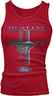 Junior's Ford Mustang Logo, Officially Licensed Ford Design Tank Top