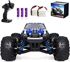 VCANNY Remote Control Car, Terrain RC Cars, Electric Remote Control Off Road Monster Truck, 1: 18 Scale 2.4Ghz Radio 4WD F...