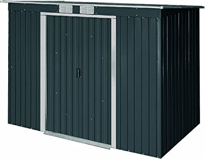Amazon.com : Keter Manor Large 4 x 6 ft. Resin Outdoor ...