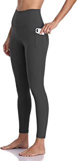 Women's High Waisted Yoga Pants 7/8 Length Leggings with Pockets