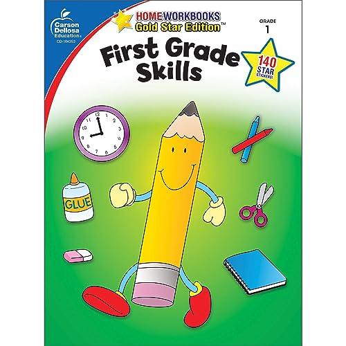 Carson Dellosa   First Grade Skills Workbook   64pgs (Home Workbooks)