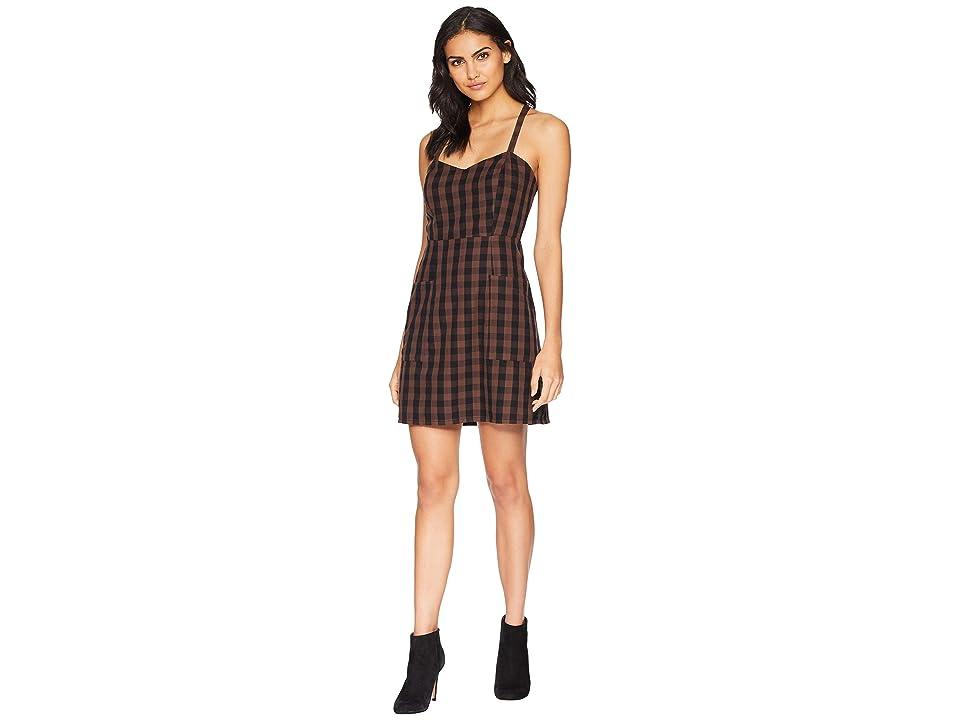 Volcom Dare 2 Bloom Dress (Dark Chocolate) Women