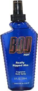 Parfums De Coeur Bod Man Really Ripped Abs Fragrance Body Spray, 8 Ounce